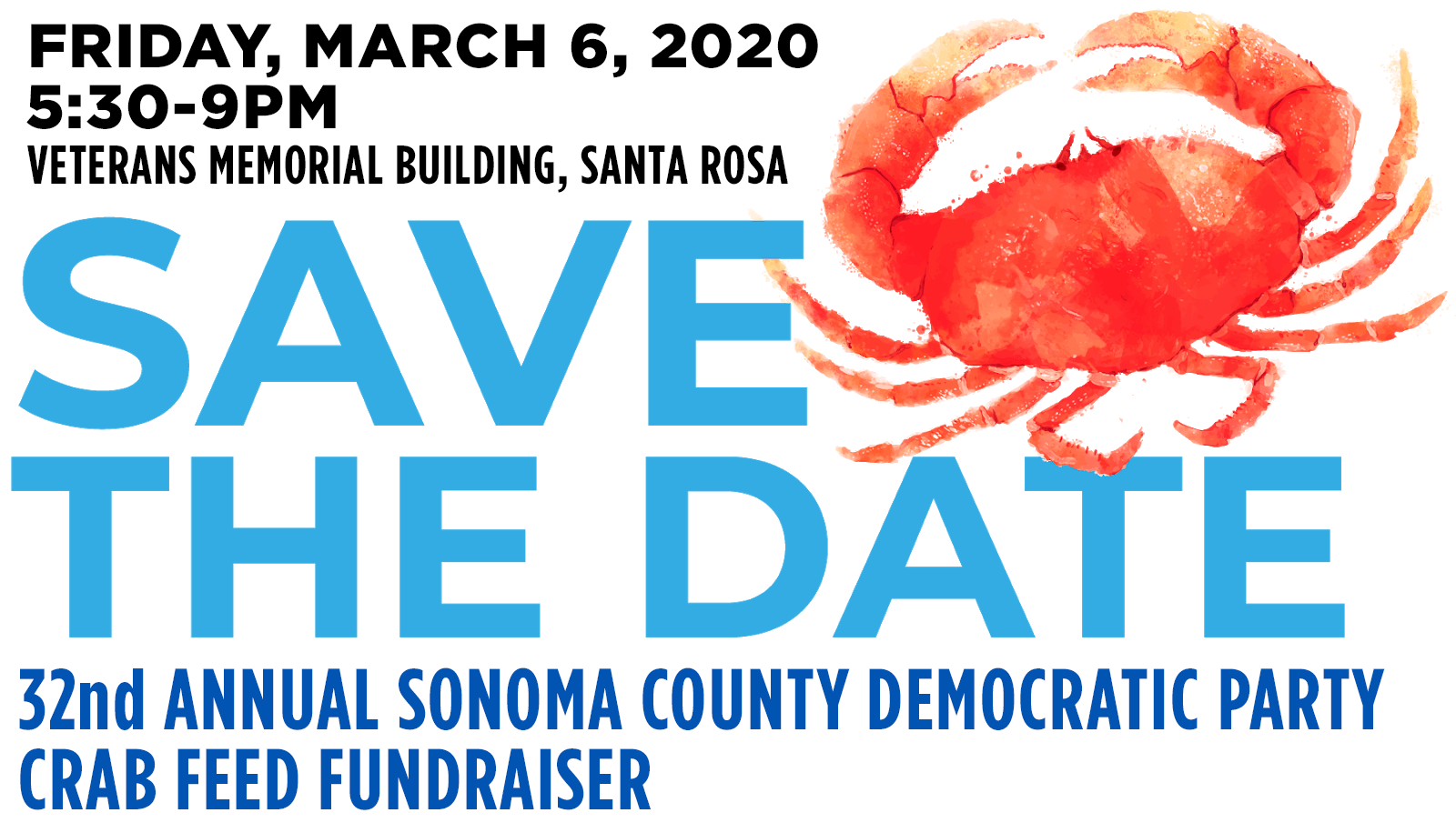 Save the Date - Crab Feed